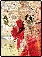 カーペット 丸洗い ダイニング用 サラリとした肌触り 1年中使えるタイプ 约 160*230cm 男の子のための花の屋内カーペット屋内屋外カーペットデジタルフラワーファブリック 北欧家具 拭ける 四角 おしゃれ 心地良い