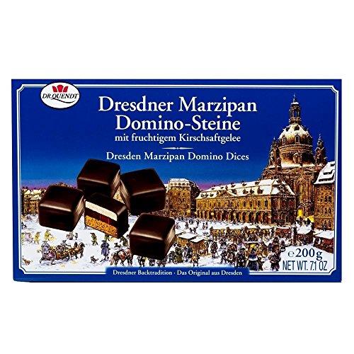 Preisvergleich Produktbild Dr. Quendt - Dresdner Marzipan Domino-Steine - 200g