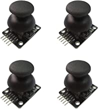 Miteko Joystick Breakout Module Shield PS2 Game Controller for Arduino (4 Pack)