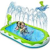 ZREE Inflatable Sprinkler Pool for Kids