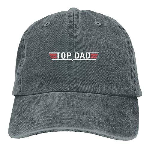 Hoswee Baseballmütze Hüte Kappe Top Dad Plain Adjustable Cowboy Cap Denim Hat for Women and Men