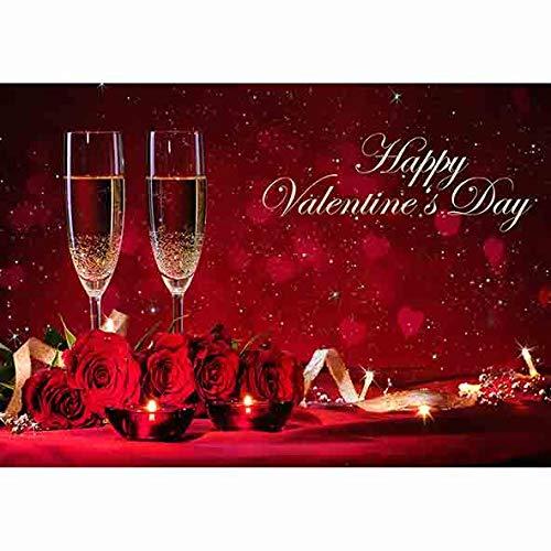 Allenjoy 7x5ft Happy Valentine