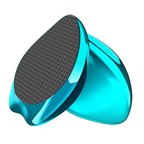 2in1 Nano-Glas Hornhautentferner für nasse & trockene Füße, extrem sichere & schnelle Fußfeile Raspel, Hochwirksame Hornhautfeile tote harte Haut Entferner Pediküre...