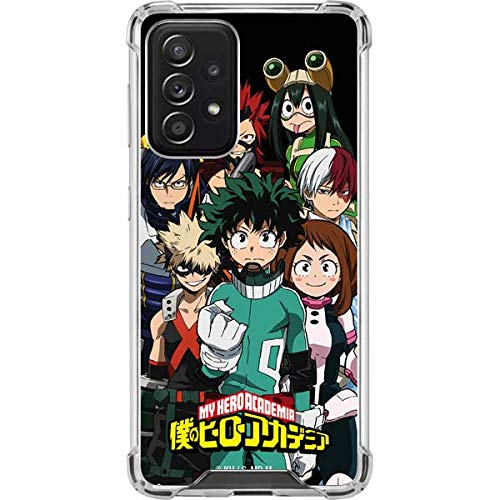 Skinit Clear Phone Case Compatible with Galaxy A52 5G - Officially Licensed Funimation My Hero Academia Design