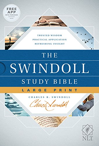 Compare Textbook Prices for Tyndale NLT The Swindoll Study Bible, Large Print Hardcover – New Living Translation Study Bible by Charles Swindoll, Includes Study Notes, Book Introductions, Application Articles and More Illustrated Edition ISBN 9781496433688 by Swindoll, Charles R.