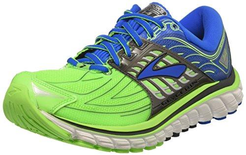 Brooks Glycerin 14, Scarpe Running Uomo, verde (Greengecko/ElectricBlueLemonade/Anthracite), 44.5 EU