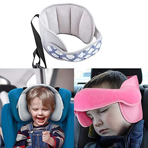 Lz Kind Kopfstütze, Kopf Nackenstütze Autogurt Sicherheit Kopfstütze Kissen Schutz Für Baby Kids Wolken