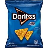 Doritos Cool Ranch Flavored Tortilla Chips, 1.75 Ounce (Pack of 64) (Packaging May Vary)