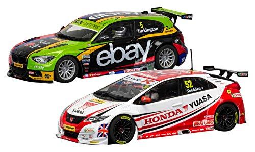 Scalextric C3694A Other License BTCC Champions-BMW 125 Series 1 & Honda Civic Car