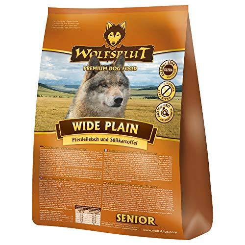 Wolfsblut | Wide Plain Senior | 15 kg | Pferd | Trockenfutter | Hundefutter | Getreidefrei