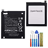 New Replacement Battery HE323 Compatible with Essential Phone PH-1 A11 3040MAH with Tools