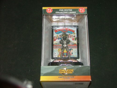 DC Wonder Woman Fine Pewter Collector's Series Number 1132 Limited Edition by by