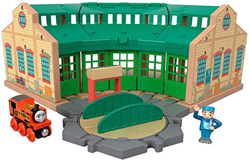 Fisher-Price Thomas & Friends Wood, Tidmouth Sheds, Multi Color