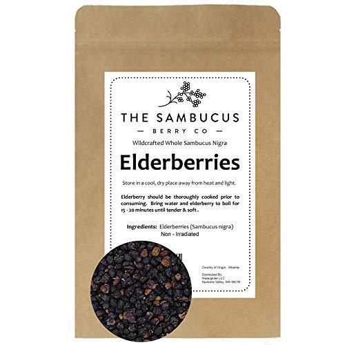 Elderberry Whole, Dried Wild-Harvest