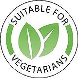 Vogue - 1000x etiquetas adhesivas para restaurantes de alimentos vegetarianos