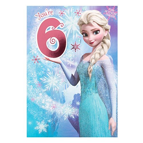 Hallmark Disney Frozen 6. Geburtstag Karte