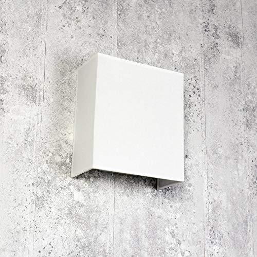 Stof wandlamp wit vierkant Loft E27 modern design wandlamp slaapkamer woonkamer hal ALICE
