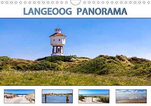 LANGEOOG PANORAMA (Wandkalender 2021 DIN A4 quer)