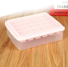 PP With Lid With Ice Shovel Seal 30 Grid Ice Cube Ice Box Pink