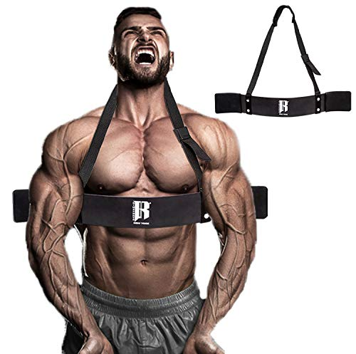 RIMSports Arm Blaster for Biceps & Triceps Arm Blaster for Dumbbells and Barbells Curl Support Ideal Bicep Blaster for Muscle Gains Arm curl Blaster for Bodybuilding & Weight Lifting