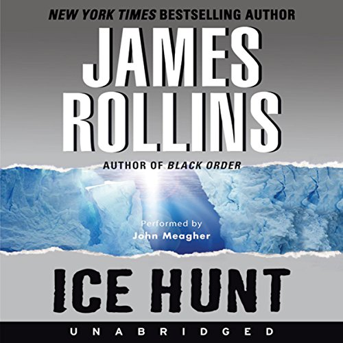 Ice Hunt audiobook cover art