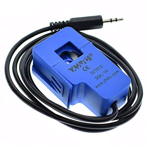 ARCELI 50A SCT-013-050 Nichtinvasiver Sensor-Split-Core-AC-Stromwandler für Arduino