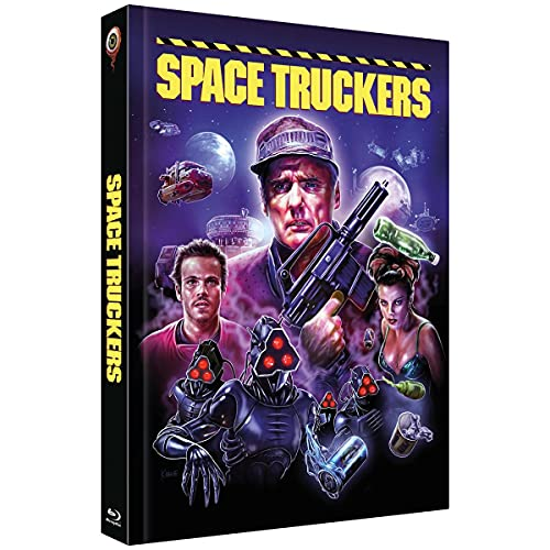 Space Truckers - Mediabook - Cover C (25th Anniversary Edition) (2-Disc Limited Collector's Edition Nr. 46) - Limitiert auf 444 Stück (+ DVD) [Blu-ray]