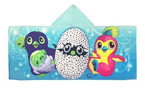 Price comparison product image Hatchimals Cotton Hooded Bath / Pool / Beach Towel