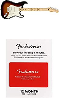 Fender Player Stratocaster Electric Guitar - Maple Fingerboard - 3 Color Sunburst with Fender Play