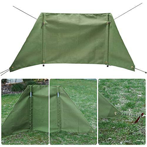 KOSIEJINN Fold Camping Cocina Viento De La Pantalla Plegable Al Aire Libre Parabrisas Portátil Al Aire Libre De La Estufa Que Acampa para La Comida Campestre del BBQ Que Acampa