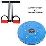 Bolditech Tummy Twister Useful for Figure Tone-Up,Weight Reduction, Pyramids with Double Spring Trimmer