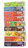 Juicy Jay's 9 folletos de Varios tamaños Rey Delgado con Sabor a Papel de Fumar
