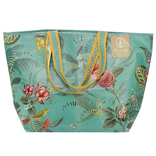 PiP Studio Floris beach bag Strandtasche Grün Green One size