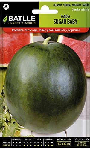 Semillas Hortícolas - Sandía Sugar Baby - Batlle