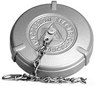 Appleton PTTC100A Receptacle Threaded Cover, 100 Amp, 2 and 3 Pole