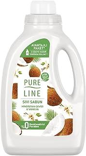 Pureline Sıvı Sabun Hindistan Cevizi & Vanilya 1400 ml 1 Paket (1 x 1400 ml)