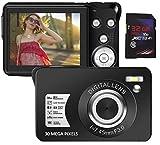 デジタルカメラ デジカメ コンパクトデジカメ カメラ 1080P 3000万画素 8Xズーム 2.4インチLCD コンパクト 連続ショット軽量 携帯便利 充電式SDカード 最大128GB対応 日本語説明書