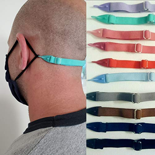 Face Mask Strap for Kids or Adults - Same Day Shipping!! (purple)