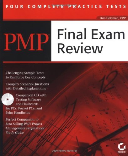 Pmp: Final Exam Review