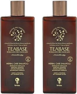 Shampoo antiforfora professionale DUO PACK 2 x 250 ml tecna the spa teabase aromatherapy herbal care shampoo 500ml PROMOZI...