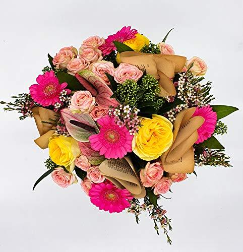 Bouquet multicolore de fleurs fraîches