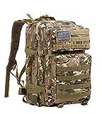 SUPERSUN Military Tactical Backpack Molle Bag 45 Liter Large Bag Rucksack