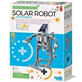 4M Green Science Solar Robot Kit - Green Energy Robotics, Eco-Engineering - STEM Toys Educational Gift for Kids & Teens, Girls & Boys (Packaging May Vary), Multi