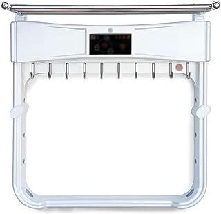 CIGONG Toallero toallero eléctrico toallero Calefactor Estante baño Estante baño toallero toallero (Color : White, Design : B)
