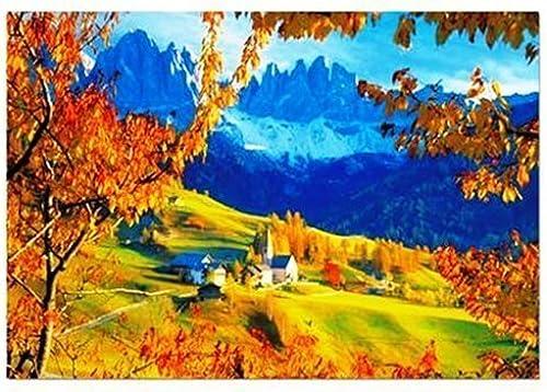 diseños exclusivos Educa Autumn In Villnoss, The Dolomites,  (4000 Pc Pc Pc Puzzle) by Educa  protección post-venta