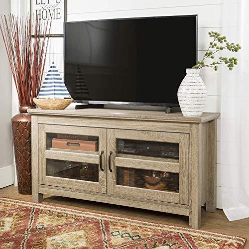 Eden Bridge Designs 44-inch Essentials TV Stand, TV LCD LED Flat Screen Stand Entertainment centre Media Stand Buffet Cortez TV Stand Unit, Coronado Wood TV Stand Unit-Maple, 41x112x58 cm