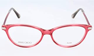 Rx Eyeglasses Frames JC 153 QC8 52-15-140 Red Glitter Made in Italy