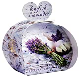 The English Soap Company, Luxury Packed Guest Soaps, English Lavender, 3x20g