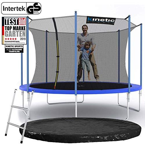 Kinetic Sports Gartentrampolin – ø 360 cm