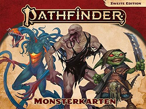 Pathfinder 2 - Monsterkarten (Pathfinder Zubehör)